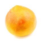 Ripe vibrant grapefruit isolated on white Stock Images