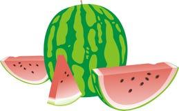 Ripe water-melon Stock Photo