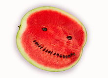 Ripe water-melon Royalty Free Stock Photo