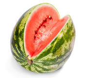 Ripe water-melon Royalty Free Stock Photography