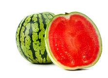 Ripe water-melon Royalty Free Stock Images