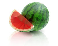 Ripe watermelon Stock Photos