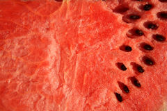 Ripe Watermelon with seeds Royalty Free Stock Images