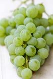 Ripe white grape Stock Photography