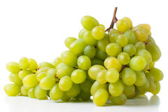Ripe white grapes Royalty Free Stock Image