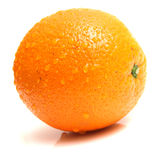 Ripe whole orange Royalty Free Stock Image
