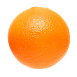 Ripe whole orange Royalty Free Stock Photography