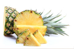 Ripe whole pineapple Royalty Free Stock Photography