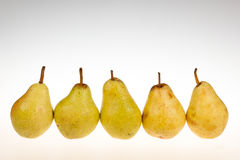 Ripe williams pears Stock Images