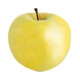 Ripe yellow apple Stock Photos