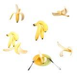 Ripe yellow banana. Royalty Free Stock Image