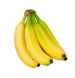 Ripe yellow banana. Stock Photos