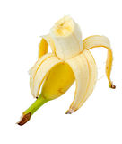 Ripe yellow banana. Royalty Free Stock Images