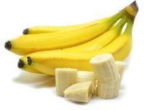 Ripe yellow banana Stock Photo