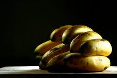 Ripe Yellow Banana. Photo of a bunch of ripe yellow banana Royalty Free Stock Image