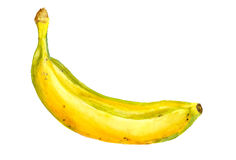 Ripe yellow banana Royalty Free Stock Photography