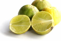 Ripe yellow lemon Stock Image