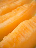 Ripe yellow melon slices Royalty Free Stock Photos