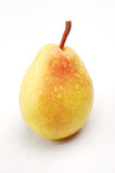 Ripe yellow pear Stock Image