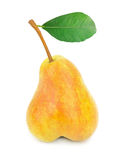 Ripe yellow pear Royalty Free Stock Photos