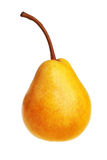 Ripe yellow pear Royalty Free Stock Photography
