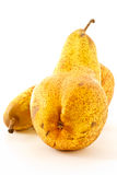 Ripe yellow pears Royalty Free Stock Photo