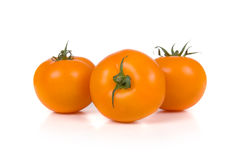 Ripe yellow tomatoes Royalty Free Stock Photos
