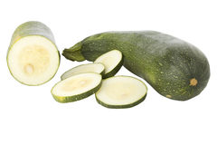Ripe zucchinis or courgettes Stock Image