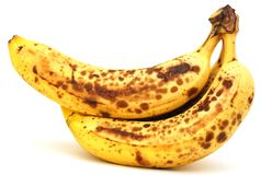 Riped banana bunch Royalty Free Stock Images