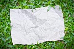 riped gräspapper Royaltyfria Bilder