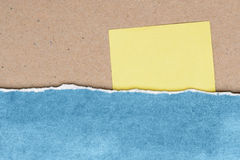 Riped paper vintage background Royalty Free Stock Photography