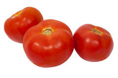 Riped tomatoes Stock Images