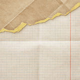 Riped vintage paper Royalty Free Stock Image