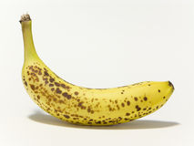 Ripen banana yellow fruit isolated Stock Image
