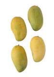 Ripen mango isolated on white background. Stock Photo