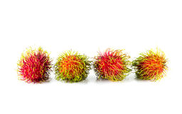 Ripen rambutan Stock Photos