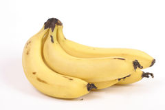 Ripened bananas. Bunch of fully ripened bananas Stock Photo