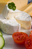 Ripened cheese Stock Images