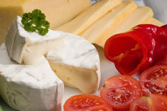 Ripened cheese Royalty Free Stock Photos