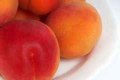 Ripened peaches Stock Photography