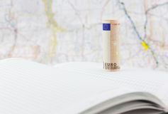 Ripercussioni economiche europee avanti Fotografia Stock Libera da Diritti