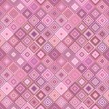 Ripetendo il modello quadrato diagonale - vector il grafico del fondo del mosaico royalty illustrazione gratis