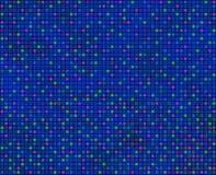 Ripetendo modello quadrato, principalmente blu, senza cuciture tileabl illustrazione vettoriale
