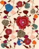 Ripeti il campione floreale Royalty Illustrazione gratis