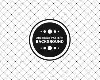 Ripeti il rettangolo diagonale con la linea fondo del punto del cono Fotografia Stock