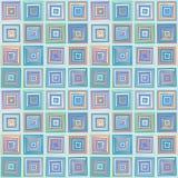 Ripetizione dei quadrati del modello Fotografie Stock