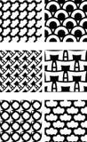 Ripetizione del reticolo delle mattonelle illustrazione di stock
