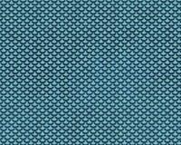 Ripetizione del Teal Mermaid Fish Scale Pattern Immagini Stock