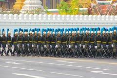 Ripetizione della processione: full-dress Immagini Stock