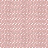 Ripetizione della struttura alla moda moderna geometrica con nei colori rosa e bianchi illustrazione di stock